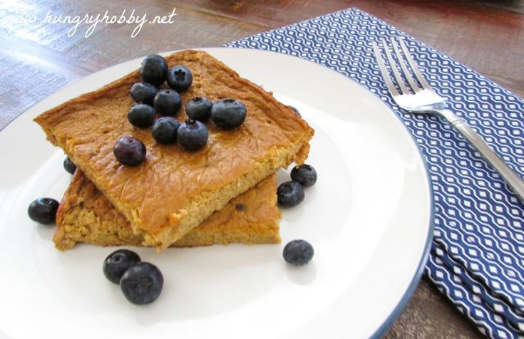 Want pumpkin protein pancakes in the morning but no time? Now you can enjoy them anytime with less flipping and mess involved!