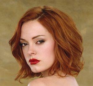 Rose McGowan - Red Hair