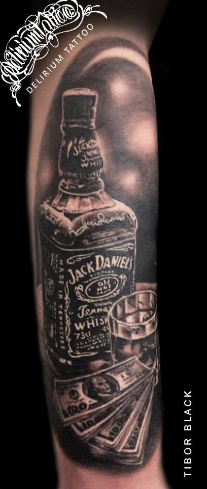 die besten 25 jack daniels tattoo ideen auf pinterest. Black Bedroom Furniture Sets. Home Design Ideas