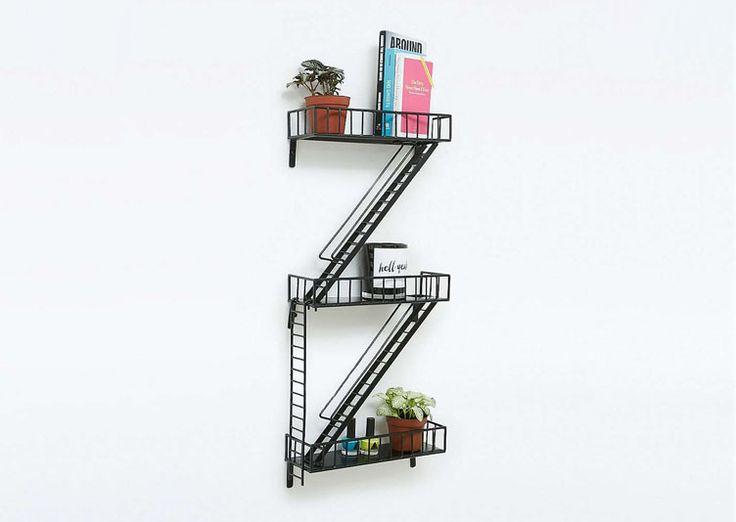 les 25 meilleures id es de la cat gorie tag re m tallique sur pinterest rayonnage m tallique. Black Bedroom Furniture Sets. Home Design Ideas