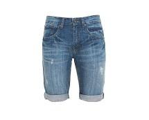 Men's Denim Turn Up Shorts