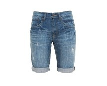 Men's Denim Turn Up Shorts