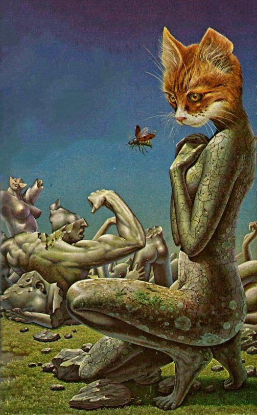 Patrick Woodroffe - Survival Problems, 1974.