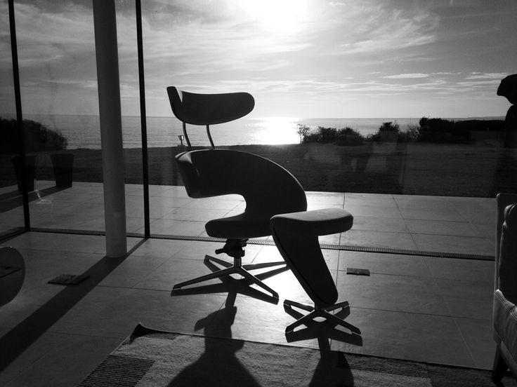 The Peel recliner chair by Olav Eldøy