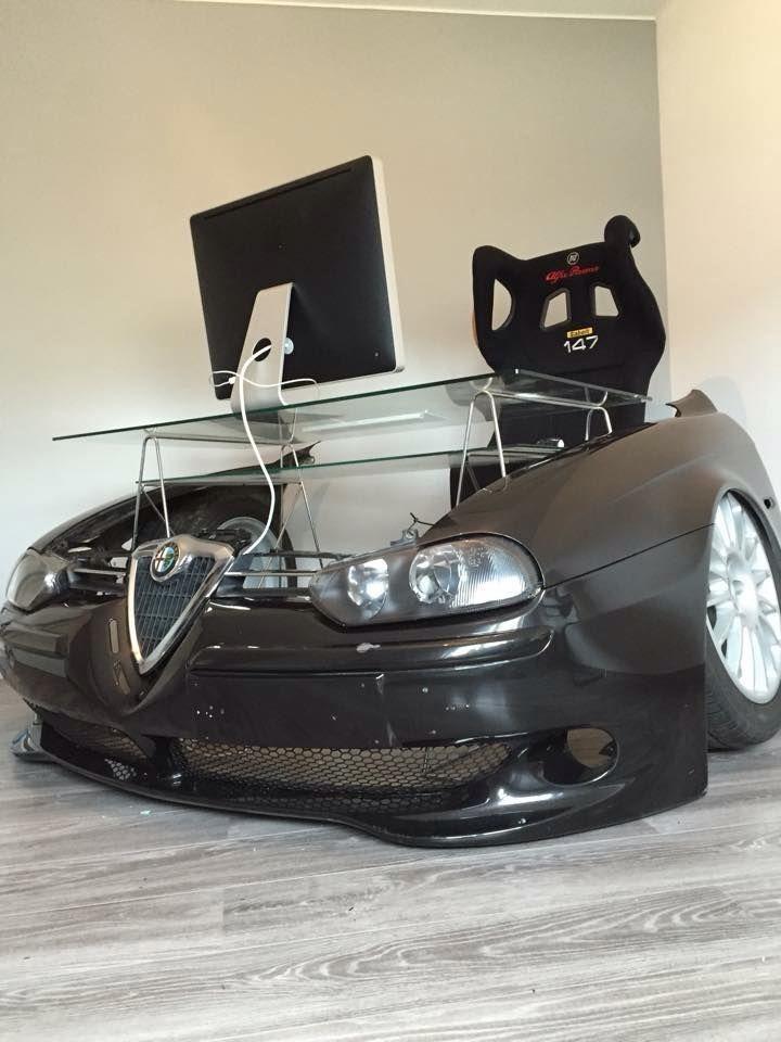 Alfa Romeo Desk ERockin MAN CAVE TOYS Pinterest Alfa - Alfa romeo car parts