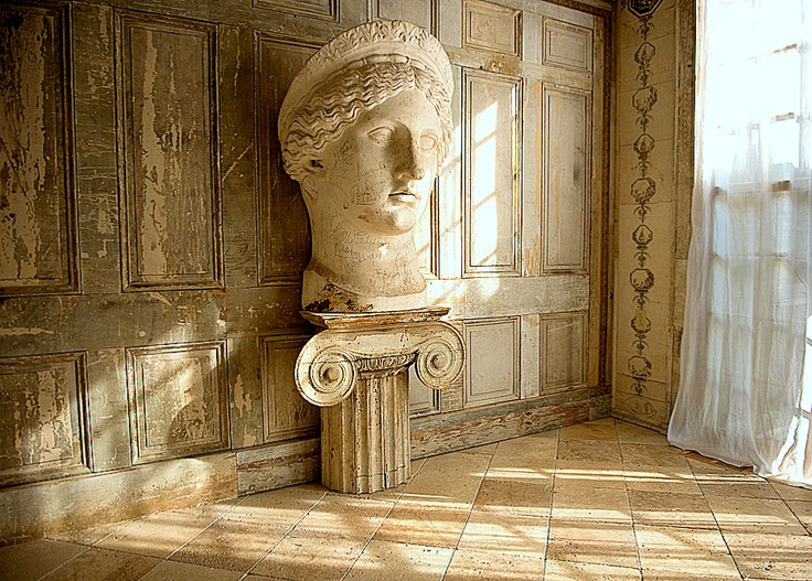 """""""My sitting room. It is really the Goddess's room, but I am allowed to sit in it.""""...Bronson Pinchot"""