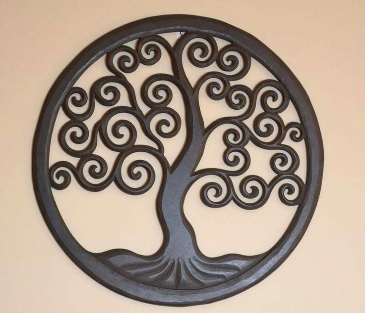 Wooden Tree of life 50cm, 40cm, 30cm