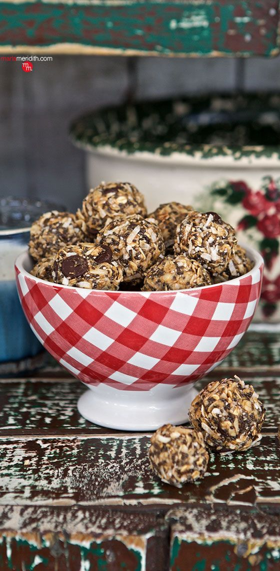 Chocolate & Coconut Granola Bites