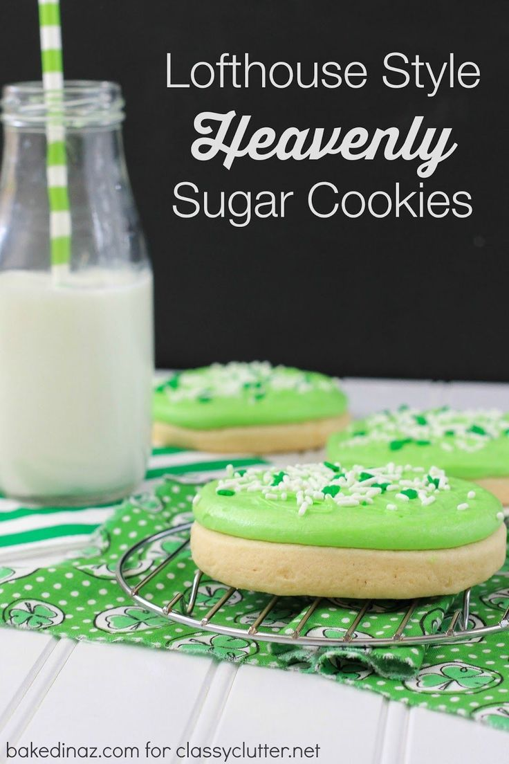 These heavenly sugar cookies will make you want to eat the whole batch! Click above for the recipe