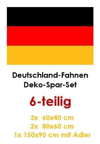 """Neue Fanartikel zur Fußball-WM 2014, wie """"Deutschland Fußball WM Fahnen Deko Spar Set (6 Stück - Drei verschiedene Größen) - über 70% gespart gegenüber Einzelkauf!"""" jetzt hier anschauen: http://fussball-fanartikel.einfach-kaufen.net/flaggen-wimpel/deutschland-fussball-wm-fahnen-deko-spar-set-6-stueck-drei-verschiedene-groessen-ueber-70-gespart-gegenueber-einzelkauf/"""