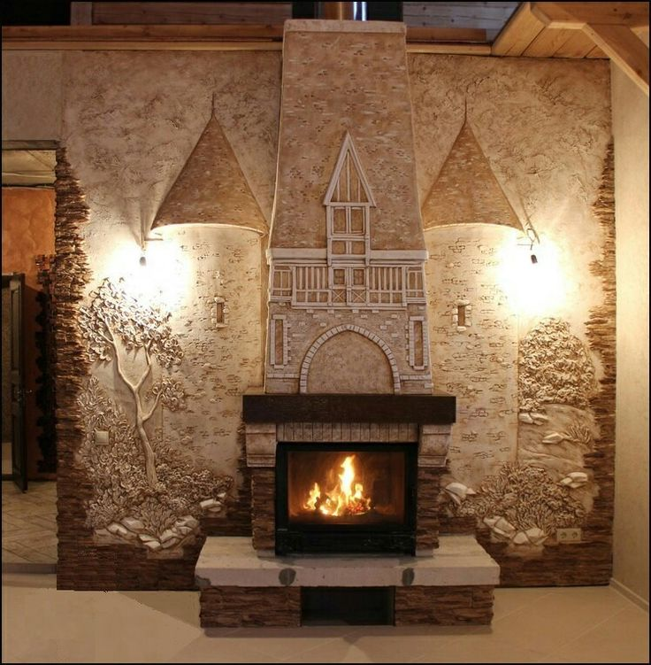 Exclusively Decor over fireplace . www.ushomedecoration.com