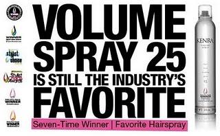 Kenra 25 hairspray