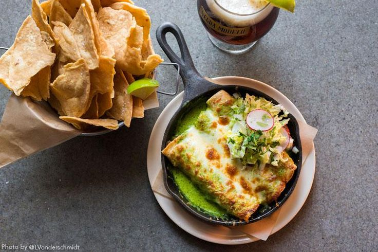 KC Restaurant Week ‏-  Port Fonda will be serving up its enchiladas de pollo for #KCRW2015, feat. roasted chicken and cheese!