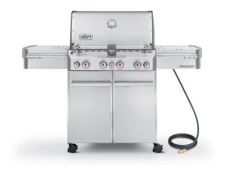 Weber Summit S-470 Stainless-Steel 580-Square-Inch Grill  Price: 	$1,929.00 https://www.amazon.com/dp/B003I5U55E/ref=as_li_ss_til?tag=howtobuild005-20=0=0=as4=B003I5U55E=0FZH57FWCG7T018PG45H