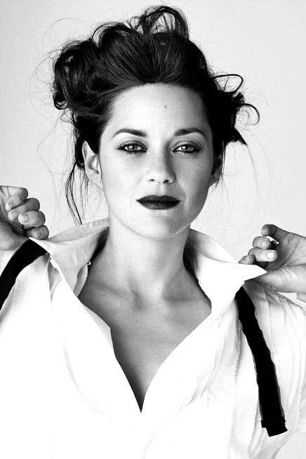 Marion Cotillard with His white shirt *¨*•⊰✿