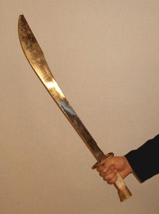 Dao (sword) - Wikipedia, the free encyclopedia