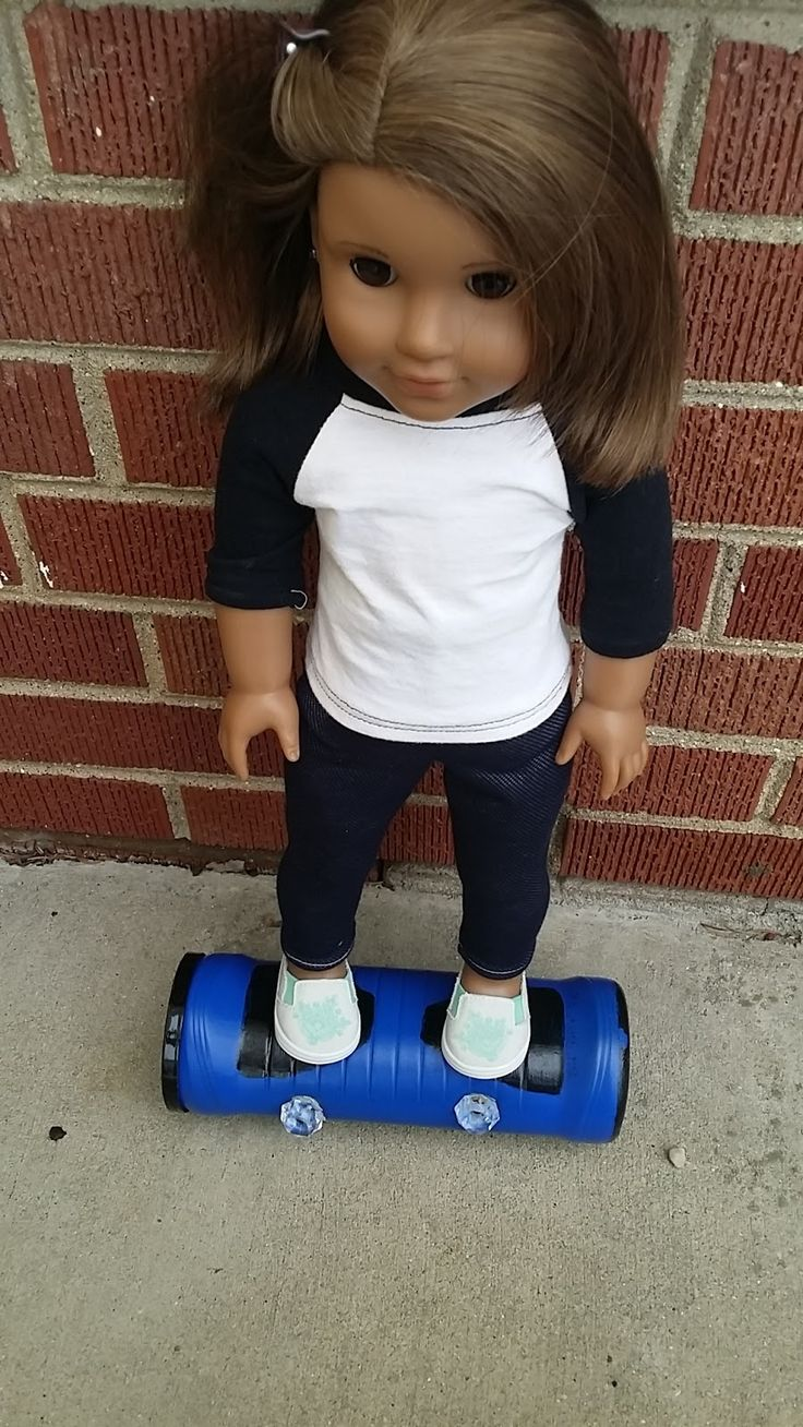 Hello everybody! Today I will be showing you how to make a hoverboard for your doll. Since I didn't take step-by-step pictures on how I ma...