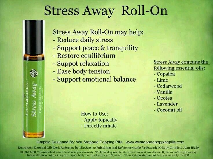 Stress Away Young Living Diy Essential Oils Blend Recipe