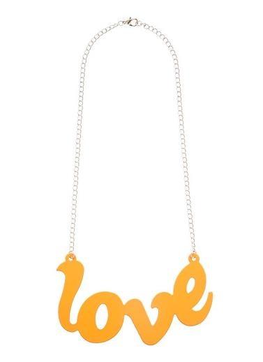 Girls Jewellery | Enamel Love Necklet | Seed Heritage