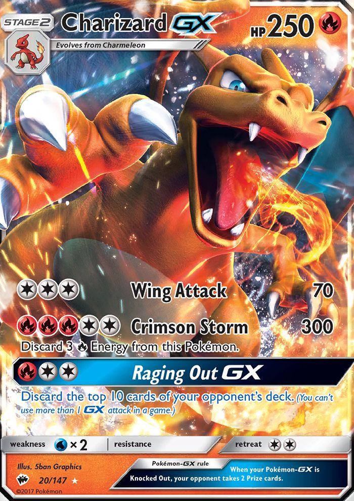 Charizard Gx Burning Shadows Bus 20 Pokemon Charizard