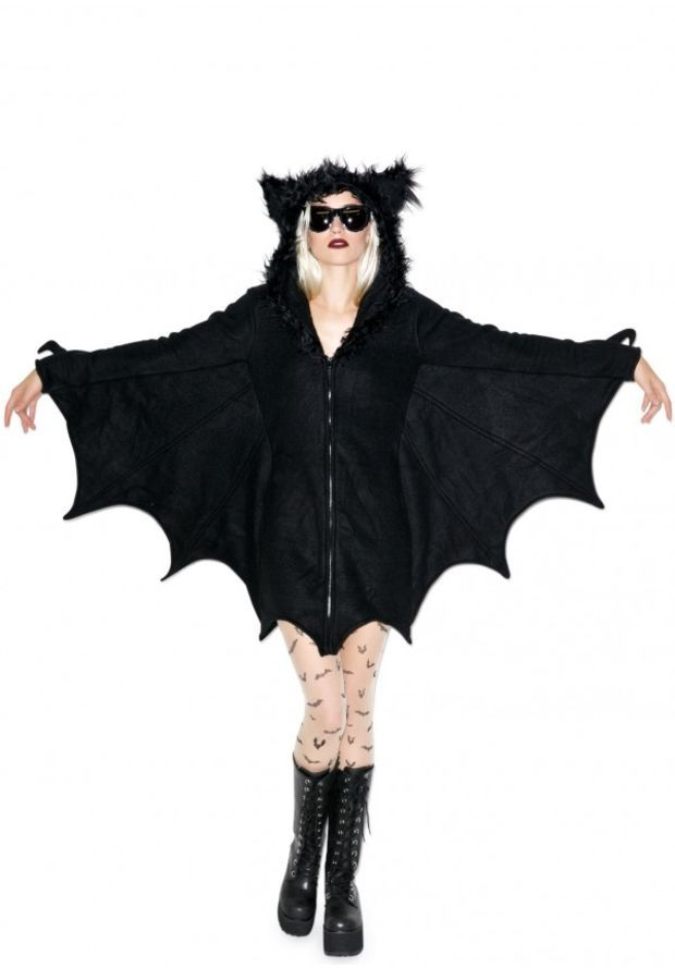 how to make a kids bat costume