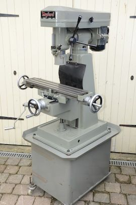 main view Myford VMC milling machine for sale
