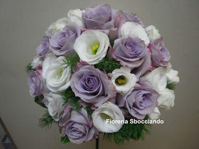 lisianthus bouquet sposa - Cerca con Google