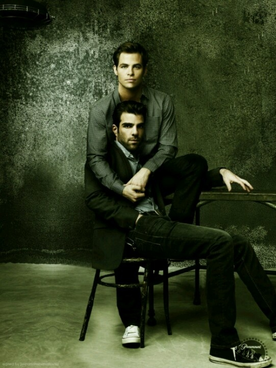 Are chris pine and zachary quinto dating