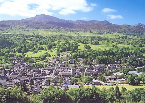My home town . . . how could it not go on this board? It is a beautiful Welsh town anyway situated at the foothills of Cader Idris but even if it wasn't it holds so many dear memories that it can be nothing but magic xx