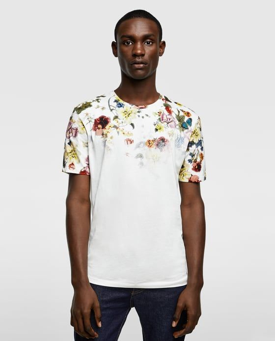 82a0ce218e Men's T-shirts | New Collection Online | ZARA United States | T ...
