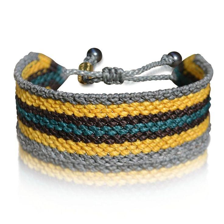 Amauta Men's Macramé Bracelet at rumisumaq.com
