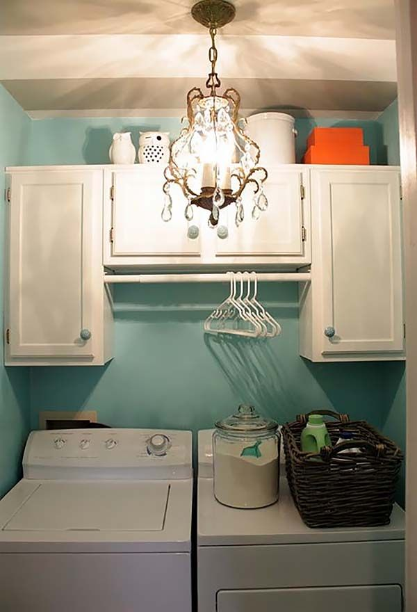 Best 25 Small Laundry Space Ideas On Pinterest Small