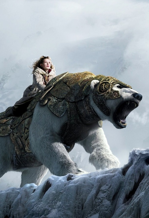 The Golden Compass, movie kinda sucked but the books are great!!!