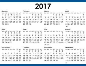 Free Printable Yearly Calendar Templates