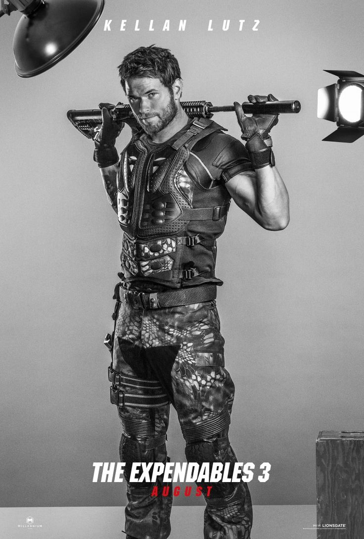Kellan Lutz for The Expendables 3: Get the Look image kellan lutz expendables 3 photo 800x1184