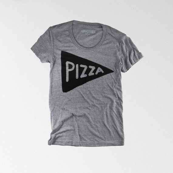 NEW The Pizza Tee Womens T shirt womens Tshirt door Xenotees, $25.00