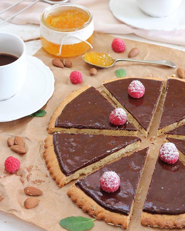 Tarta de Cacao y Naranja amarga.   #dessert #postre #sweet #chocolate #chocolatecake