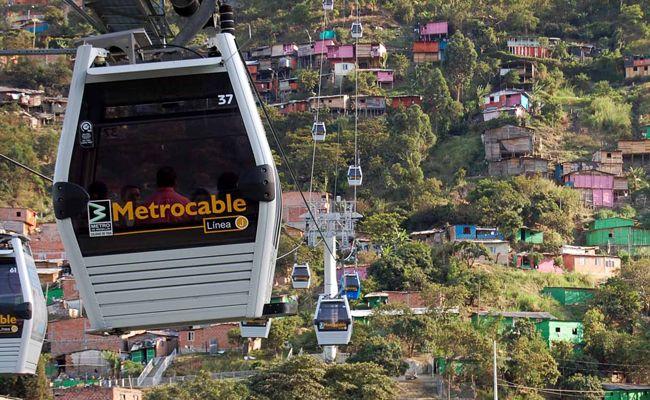 Metrocable de #Medellín