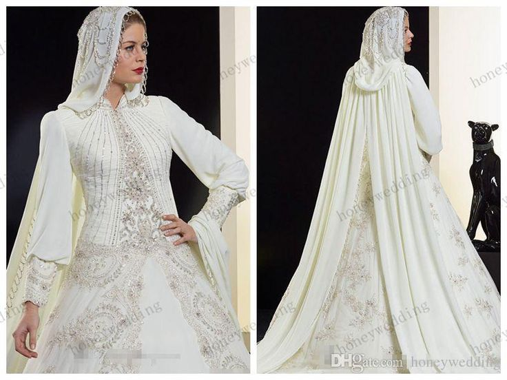 1000+ Ideas About Muslim Wedding Dresses On Pinterest