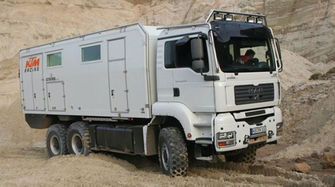 Expedition Truck By Action  Mobil