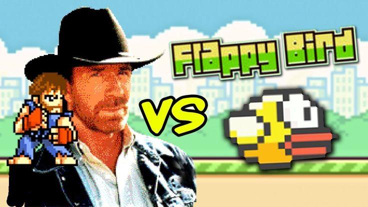 Chuck Norris vs Flappy Bird www.flappybirds.co.uk