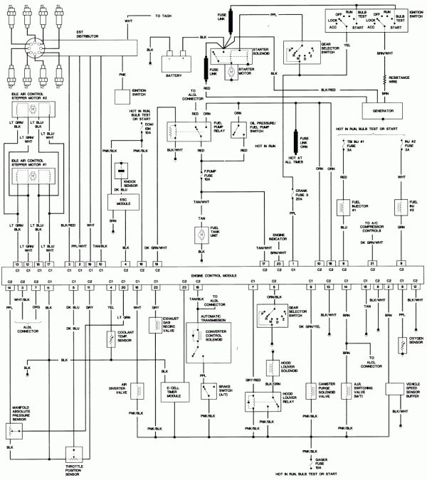 17  1985 Camaro Engine Wiring Diagram Engine Diagram