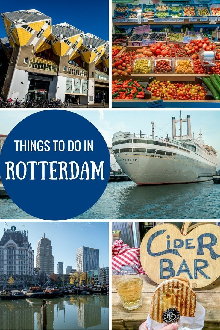 From taking a boat tour to visiting museums and eating great food, there are lots of fun things to do in Rotterdam, Netherlands.