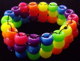 Rave Kandi!!! so much fun to trade :) PEACE, LOVE, UNITY, RESPECT!! you meet so many interesting people by trading Kandi!