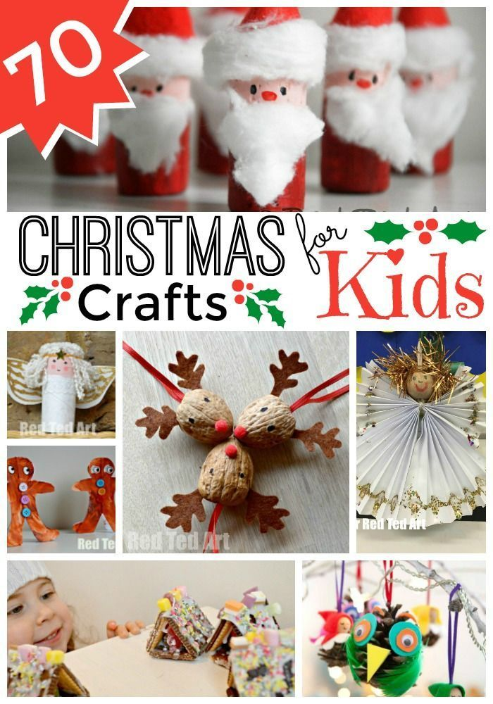 Best 25+ Christmas crafts for kids to make at school ideas on ...