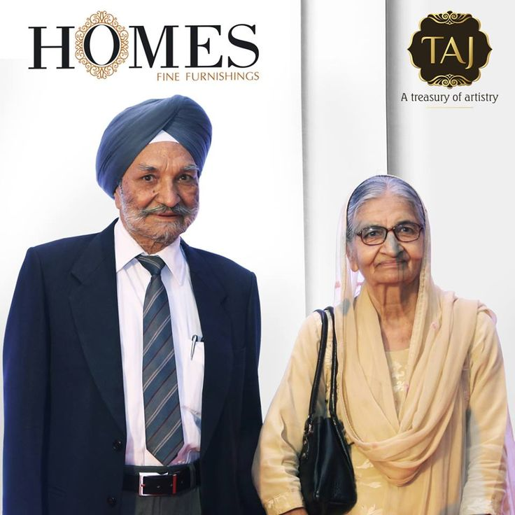 Mr.Gurcharan Singh (chairman of Homes Furnishings), with wife Mrs.Harbans Kaur at Taj Santacruz #TajCollection #LaunchParty #HomesFurnishings #HomeDecor #HomeFabricCollection