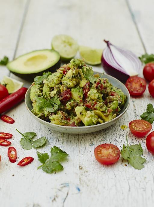 Classic guacamole. Deliciously creamy. | Food | Jamie Oliver (UK)