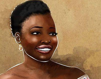 """Check out new work on my @Behance portfolio: """"Lupita Boss"""" http://be.net/gallery/40320835/Lupita-Boss"""