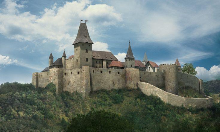 Cachtice Castle  čachtický hrad v minulosti