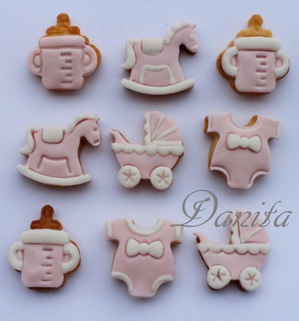 Le leccornie di Danita: Biscottini di nascita per Matilde